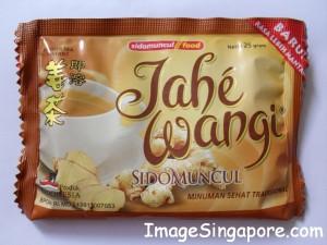 Ginger Beverage sold in Indonesia